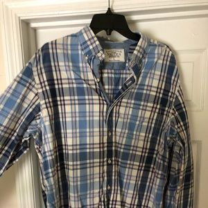 Casual dress long sleeve nautica shirt